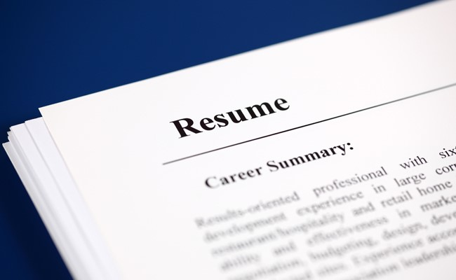 resume management system